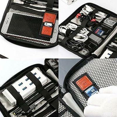 HENMI Travel Cable Organizer Electronic Carry Case