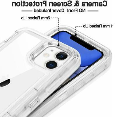 For iPhone MAX 12 Transparent Hybrid fits