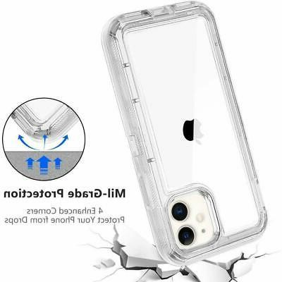 For iPhone 12 MAX Transparent Hybrid fits Otterbox