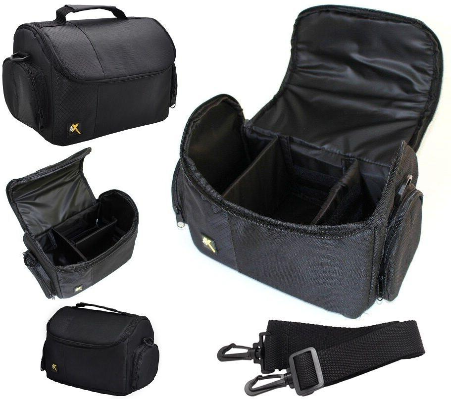 Large Deluxe Camera Carrying Bag Case For Canon Powershot G3