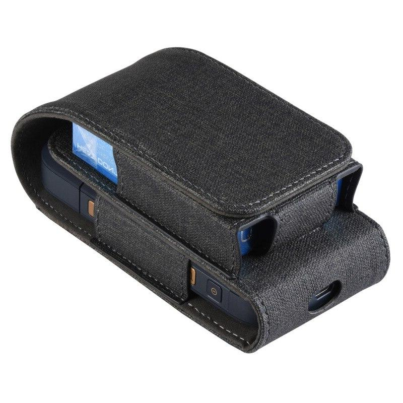 Luxury layer PU <font><b>Leather</b></font> For 2.4 Cigarette Customized <font><b>Carrying</b></font> Accessories