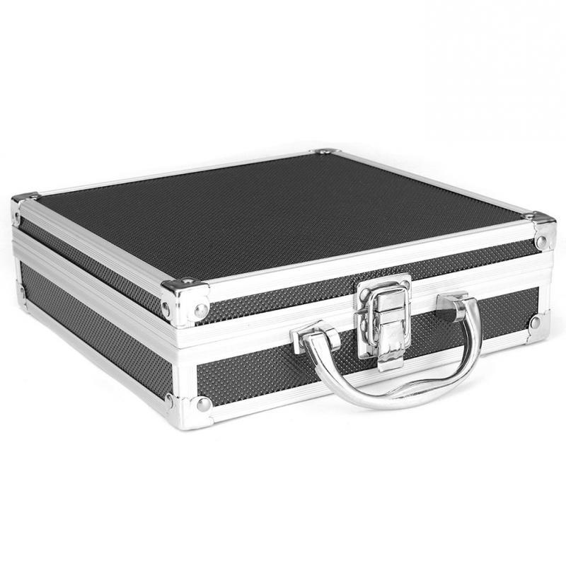Magic Props Lightweight Portable Practical Storage Carry <font><b>Case</b></font> <font><b>Tool</b></font> <font><b>Box</b></font> Sponge Aluminum Alloy <font><b>Hard</b></font> Carry