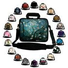 """MANY 17"""" LAPTOP SLEEVE WITH HANDLE SHOULDER STRAP CARRY CASE"""