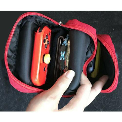 Mario Carrying Case for Nintendo Console Accessories Shoulder Storage Bag