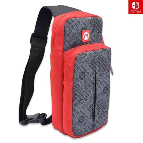 mario carrying case for nintendo switch console