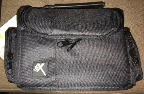 medium deluxe camera video padded carrying case