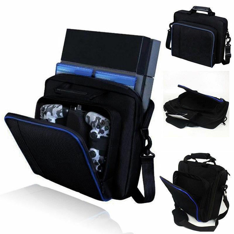 PS4 Slim & PS3 Case Travel Console Carrying Bag Adjustable P