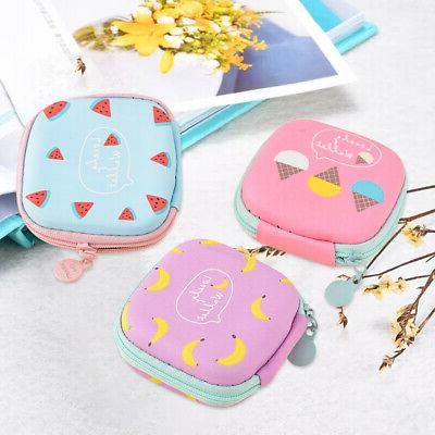 New Carrying Hard Case Storage Bag Hold for Earphone Headpho