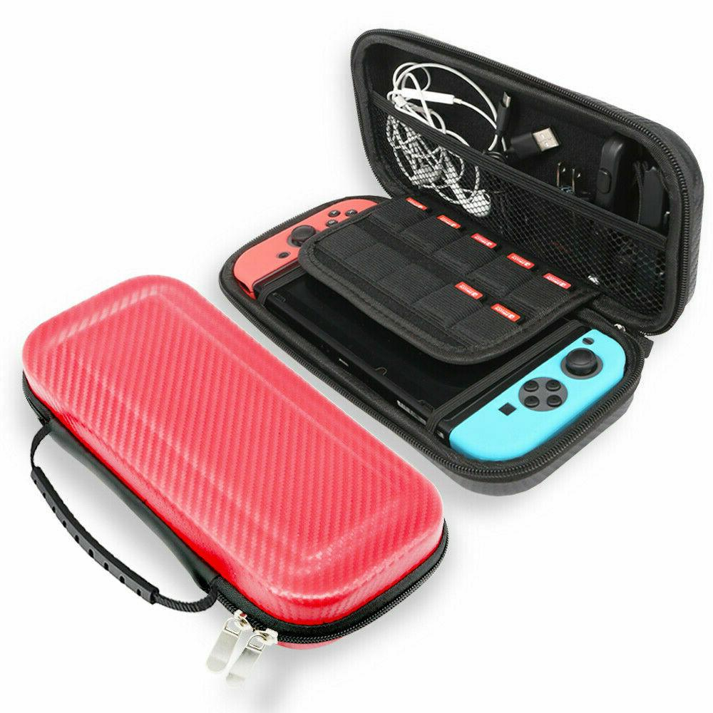 For Nintendo Carrying Case Carbon Pouch