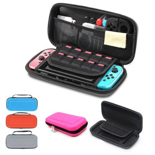nintendo switch carrying case hard shell