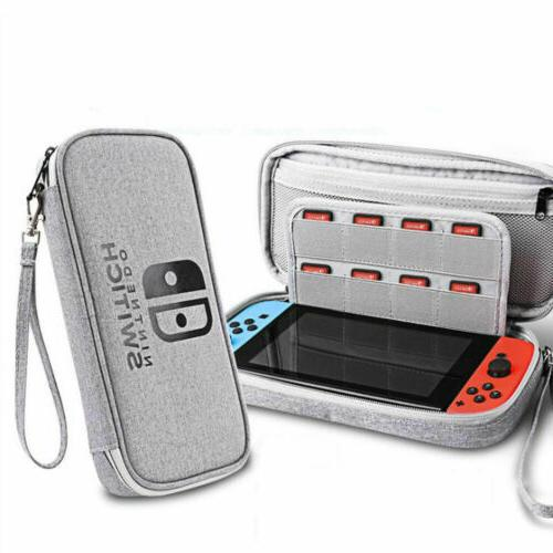 nintendo switch carrying case stand portable protective