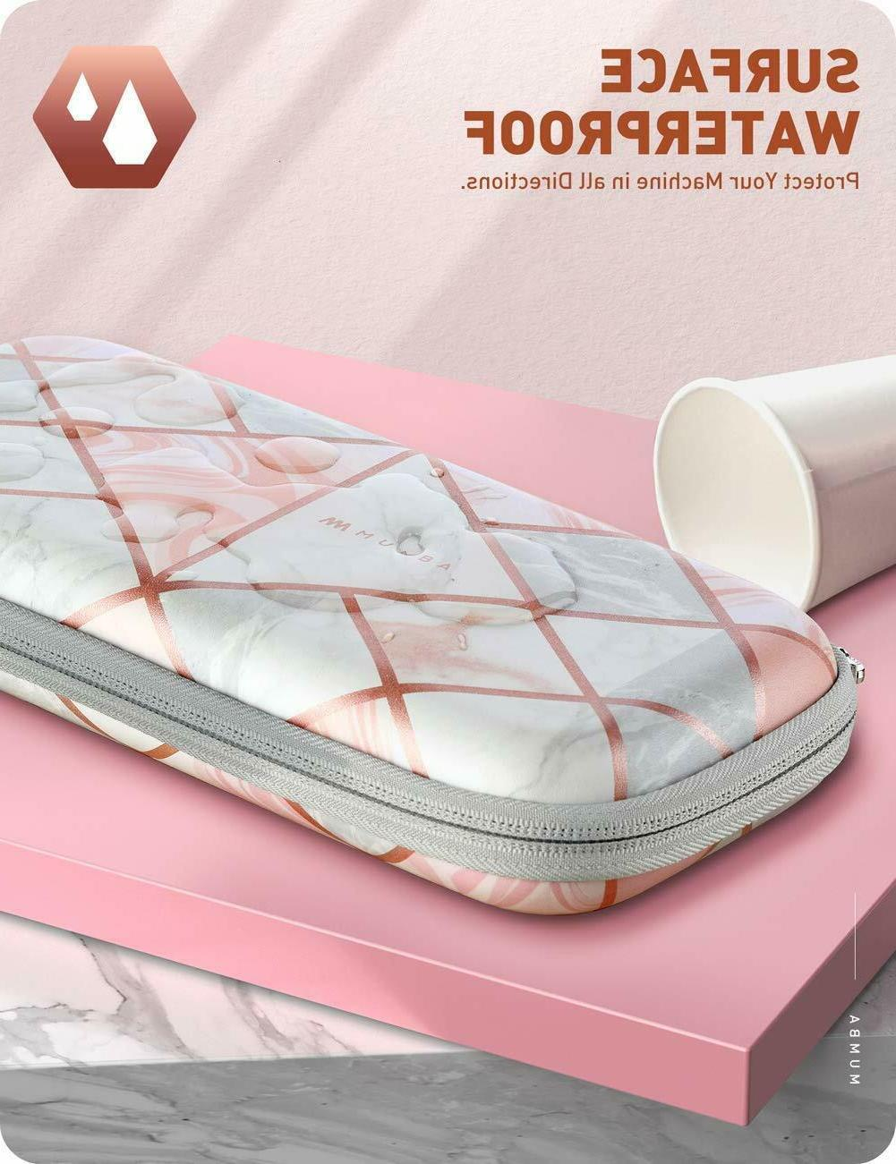 For Switch Slim Hard Shell Travel Carrying Case Girl's Pouch Bag