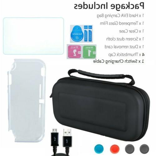 For Carrying Bag+Shell Cover+Tempered Glass