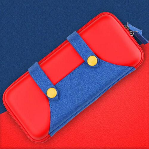 For Nintendo Switch Storage Mario Carrying Case