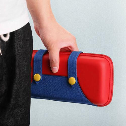 For Nintendo Switch Storage Mario Carrying Case USA