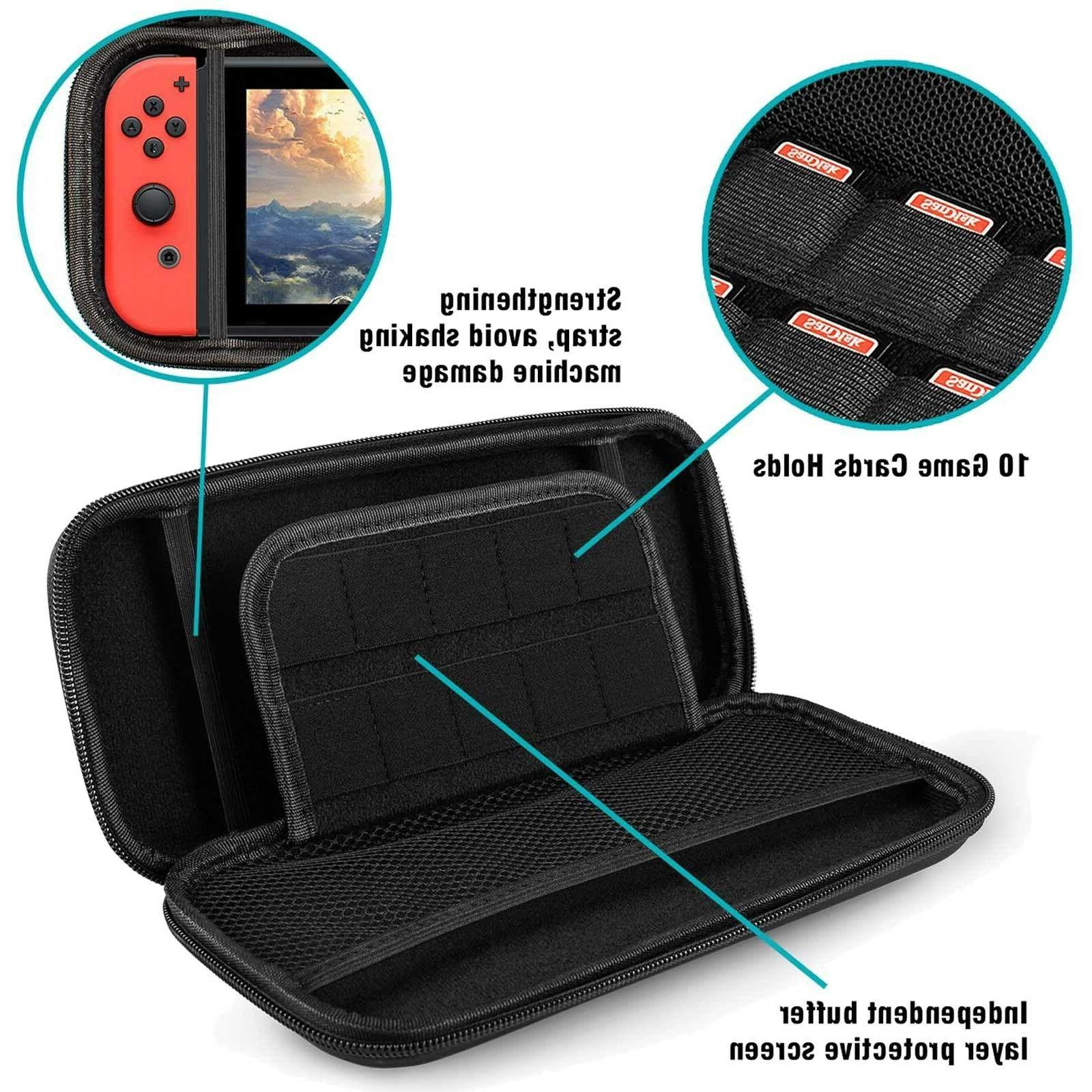 For Nintendo Switch Carrying Screen Protector Cover