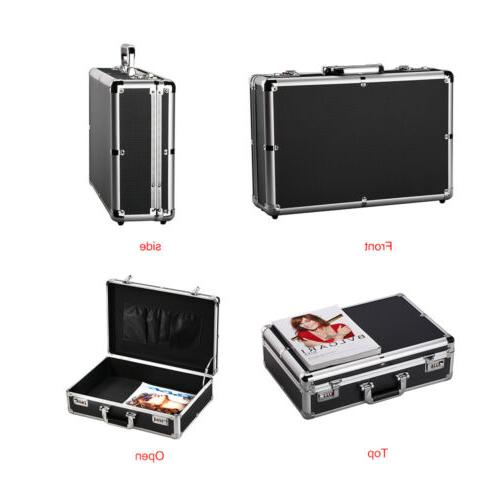 Password Aluminum Office Storage Box Cash Carrying Cases