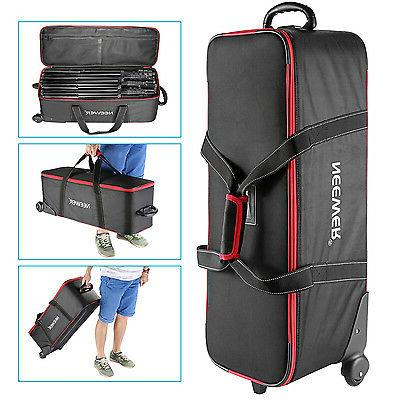 Neewer Photo Studio Equipment Trolley Case Carry Bag for Lig