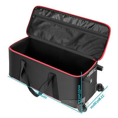Neewer Photography Kit Roller Case Carrying Light Stand Umbrella