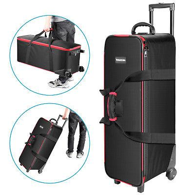 photography kit roller case carrying bag
