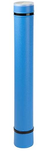 Plastic Storage Tube - Poster Tube with Strap, Documents Blu