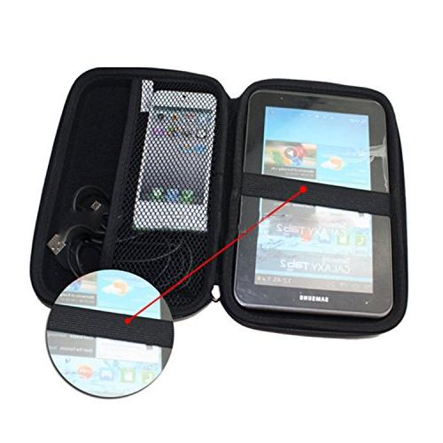 """Portable 7""""Inch Case Hard Case 6"""" 7"""" 2757LM 770 Tomtom Magellan GPS Devices Power Drive"""