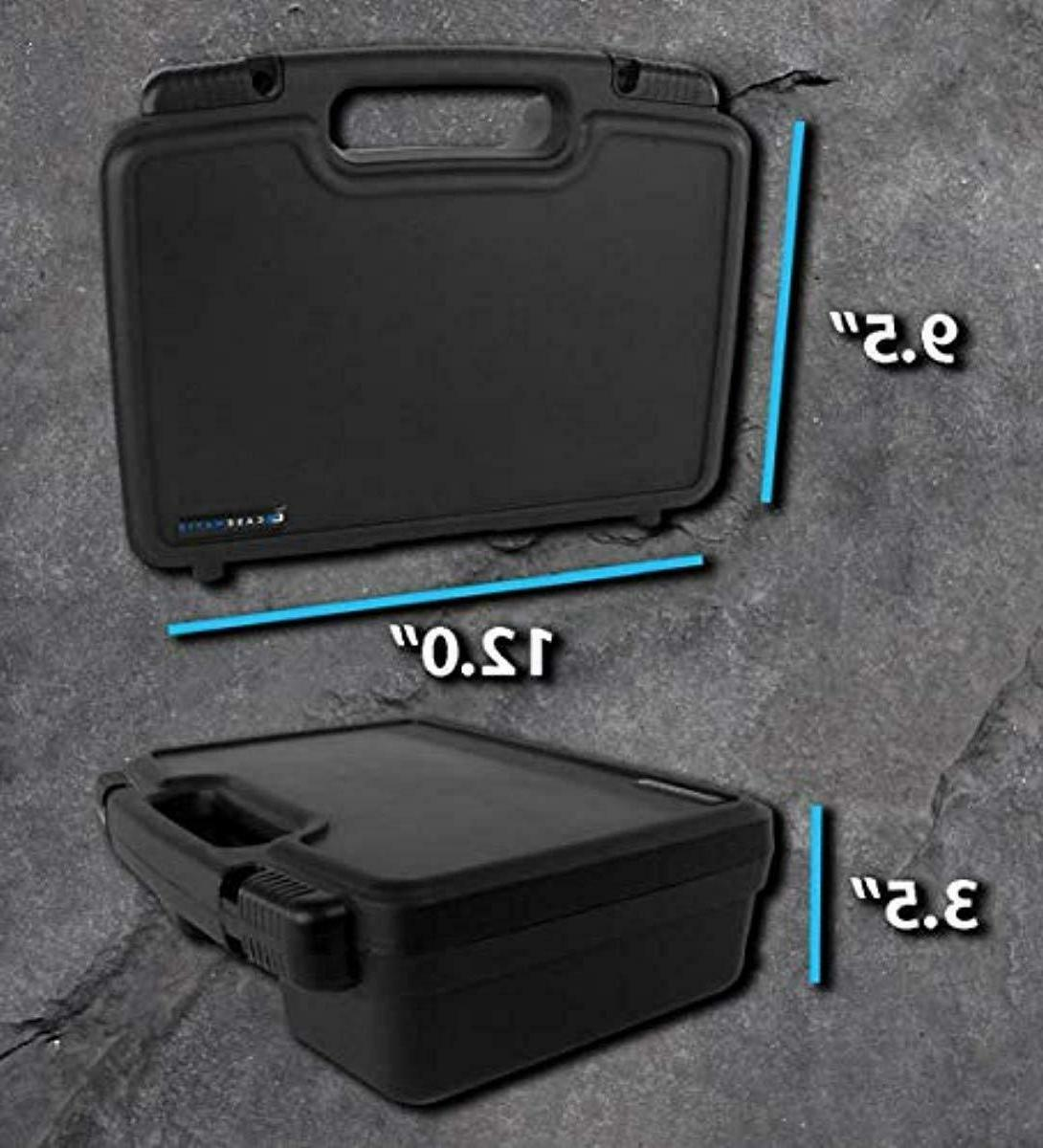 CASEMATIX Portable Carrying Hard with Customizable Foam Fits