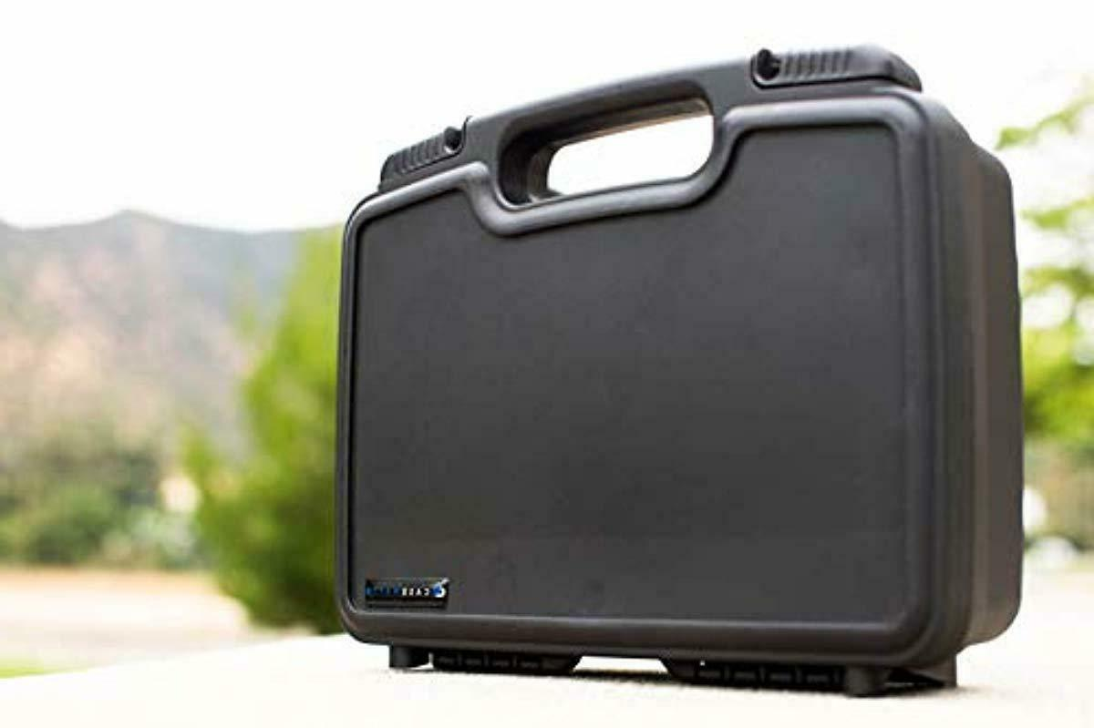 CASEMATIX Portable Carrying Hard Case with Foam Sony