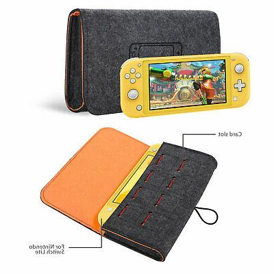 Portable Bag Carry Case Felt Storage Bag Nintendo Switch Lite