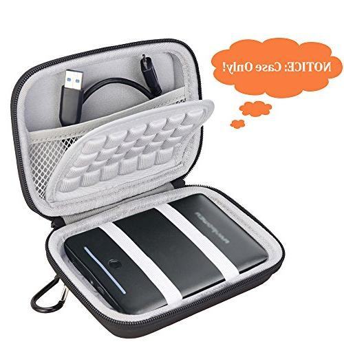 BOVKE Carrying Case 13000mAh 13400mAh Portable Charger EVA Storage Case Bag,