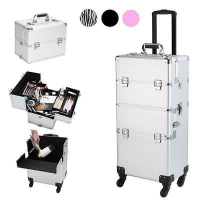 Professional 3 in 1 Makeup Vanity Travel Case Beauty Cosmeti