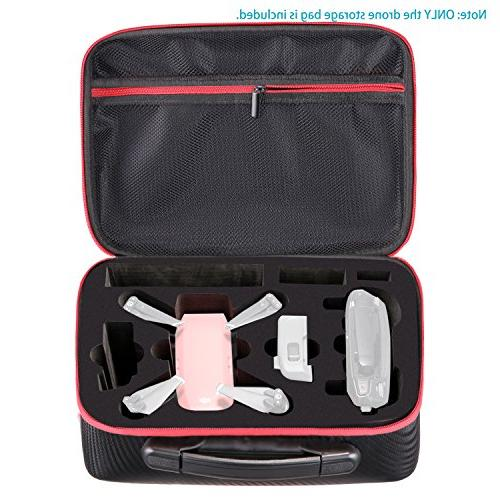 Neewer Protective Carrying for DJI Drone - Travel Bag with Compartment, Mesh for Controller, Batteries and Accessories