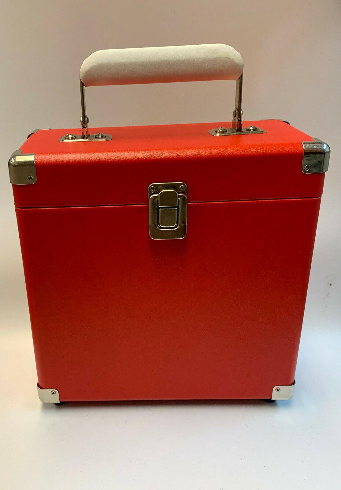 record carrying case 7 inch records decorative