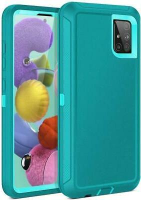 For Samsung Galaxy 5G Duty Shockproof Case Fit
