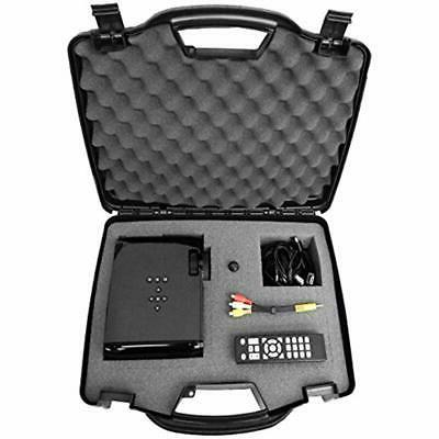 secure video projector travel hard carrying case