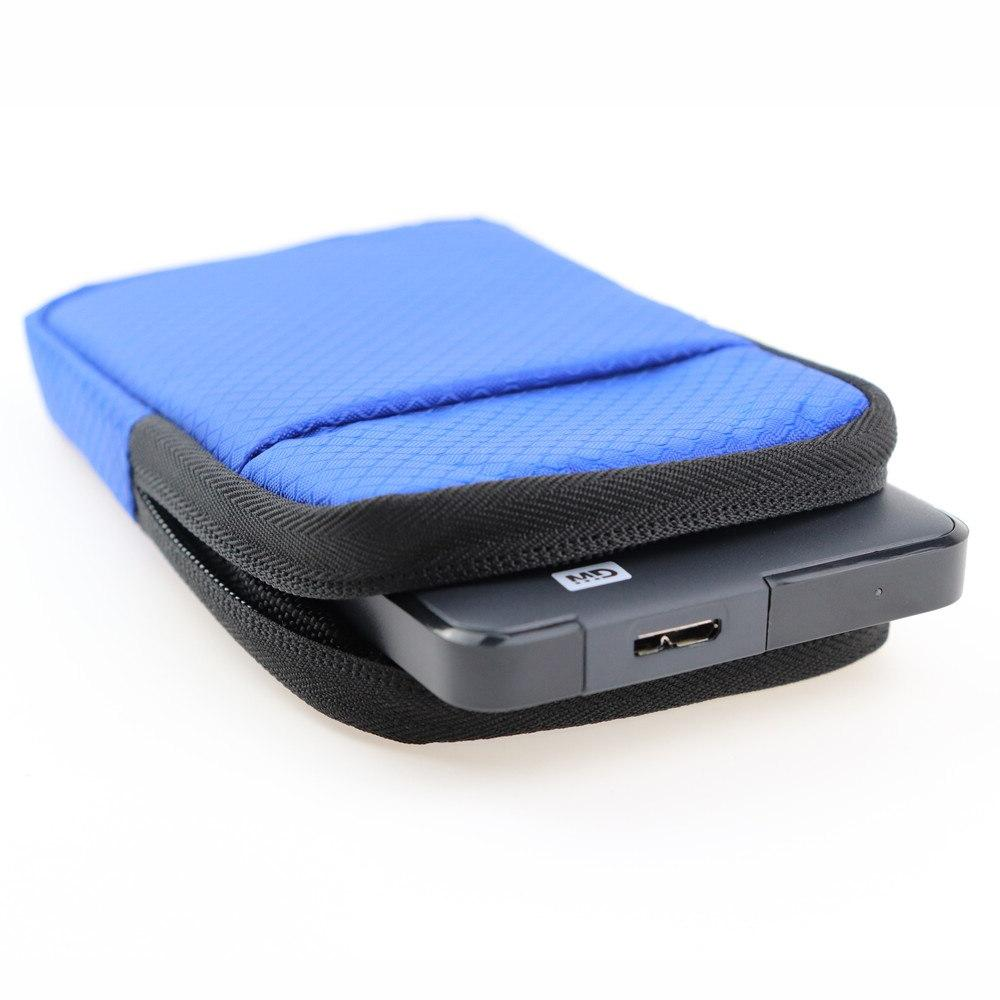 Shockproof 2.5 Inch Portable External <font><b>Hard</b></font> Travel Storage Seagate WD 1TB Drives