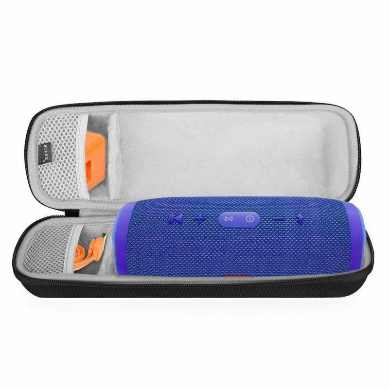 Bovke Shockproof Carrying Case For Jbl Charge 3 Waterproof P