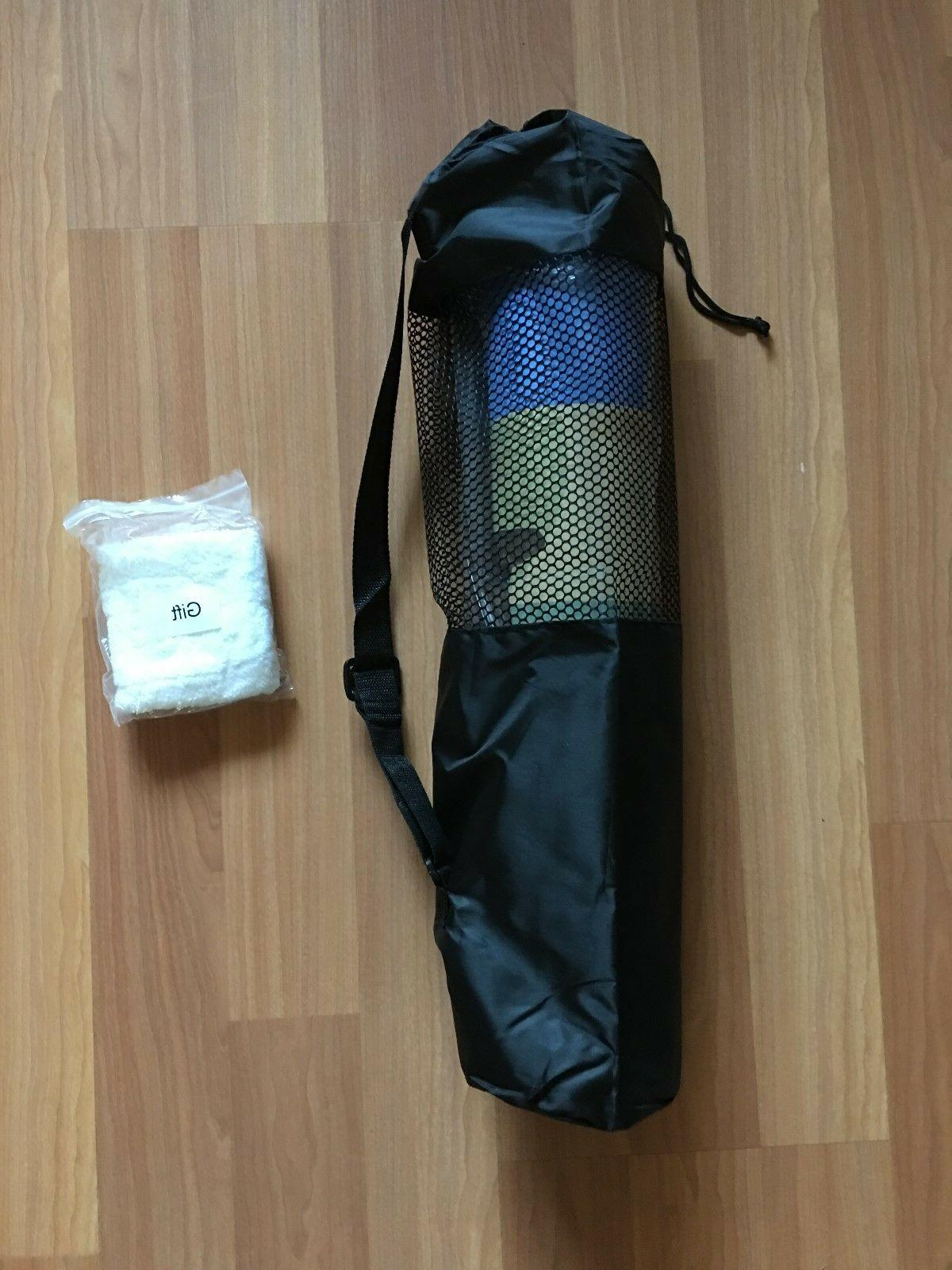 TPE Yoga Mat Thick With Carrying