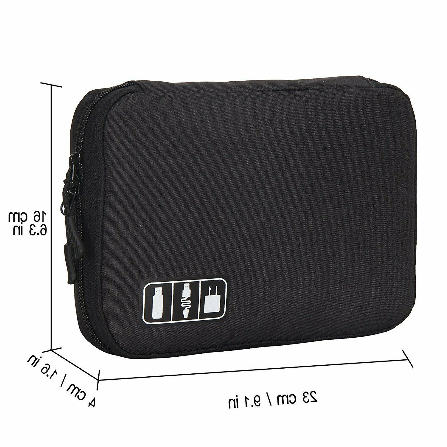 Hynes Eagle Travel Cable Organizer Electronics Accessories Cases