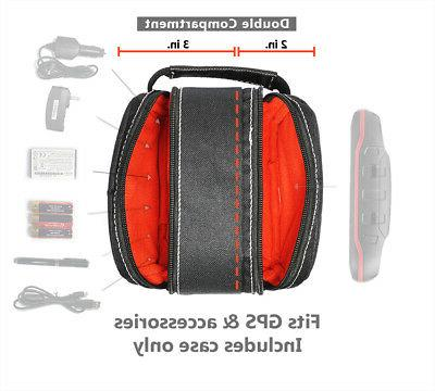 two zip travel carrying case bag