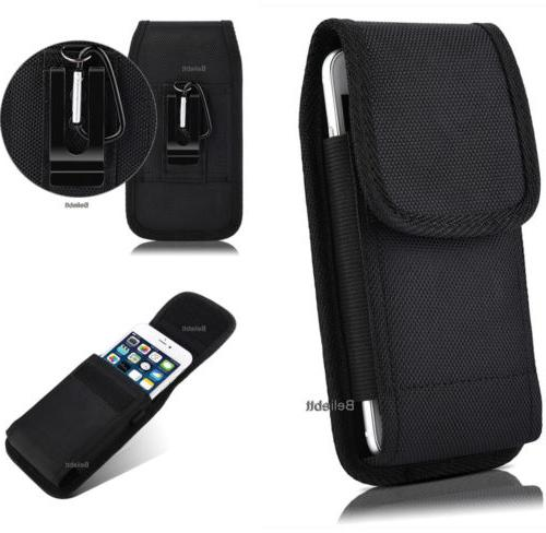 Vertical Carrying Case Cover Pouch Holster Belt Clip for S M