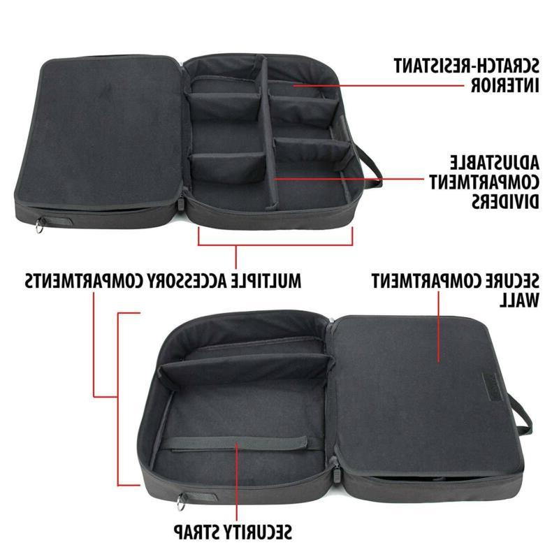 USA Gear Carrying Case Bag Compatible with DBPOWER T20,