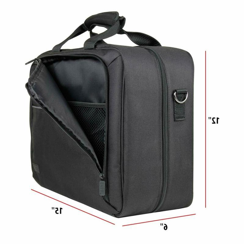 Video Carrying Case Bag Scratch-Resistant Shoulder with Dividers