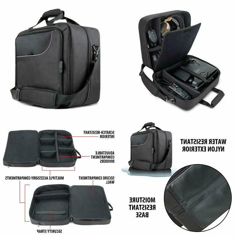 video projector carrying case bag scratch resistant