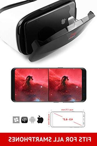 """Virtual gear, VR Glasses by VR WEAR for any 4.5-6.5"""" Screen - Digital"""