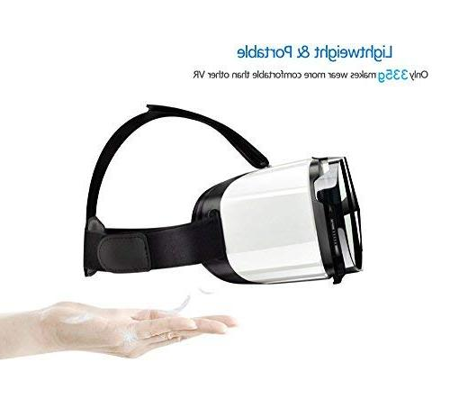 """Virtual gear, VR Glasses by WEAR 3D for any phone with 4.5-6.5"""" Digital"""