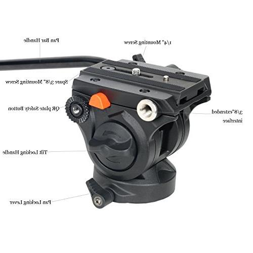 """VILTROX Professional Duty with Drag and Quick 74"""" with Carrying Bracket"""