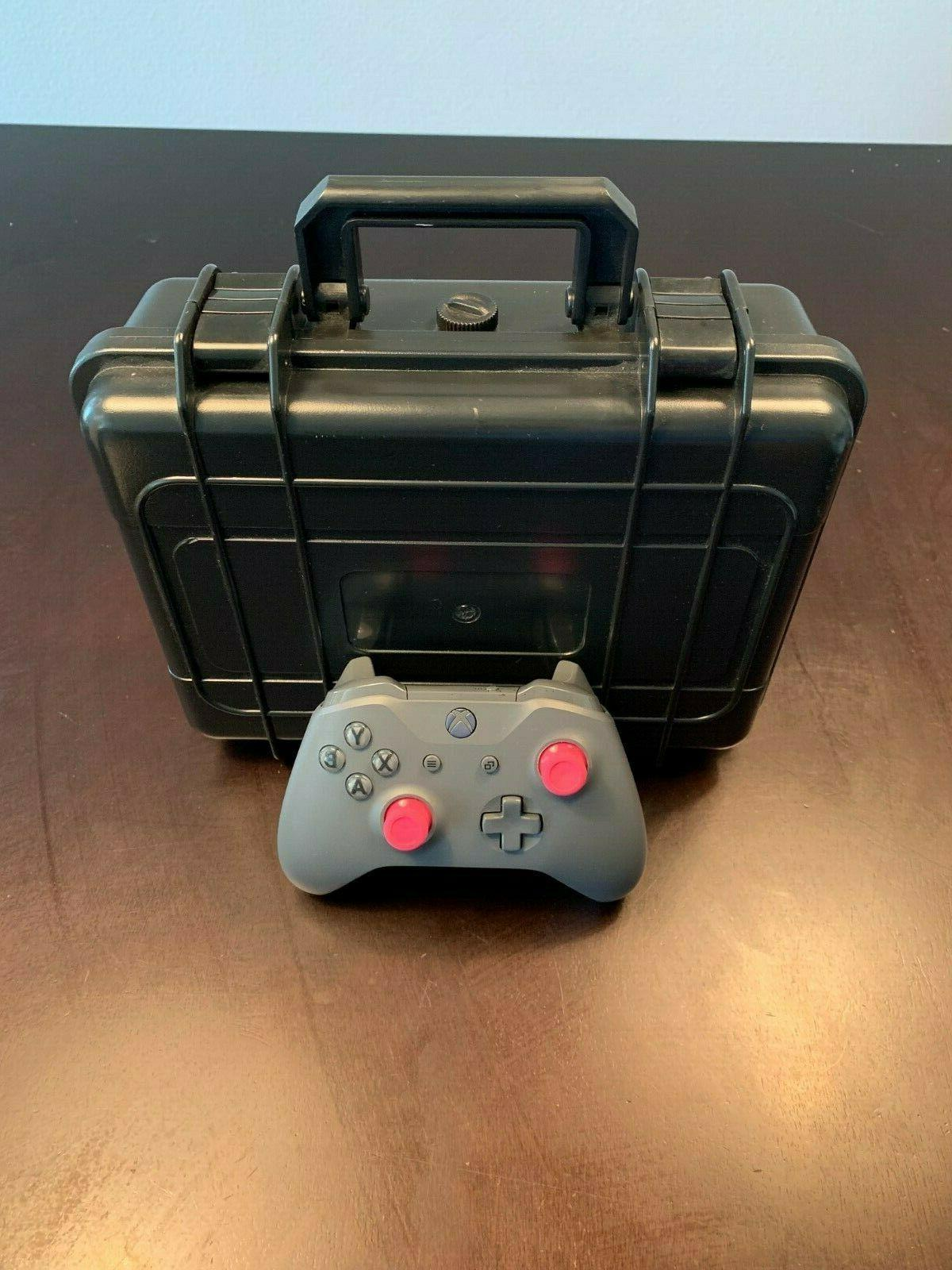 xbox one dual controller hard carrying case