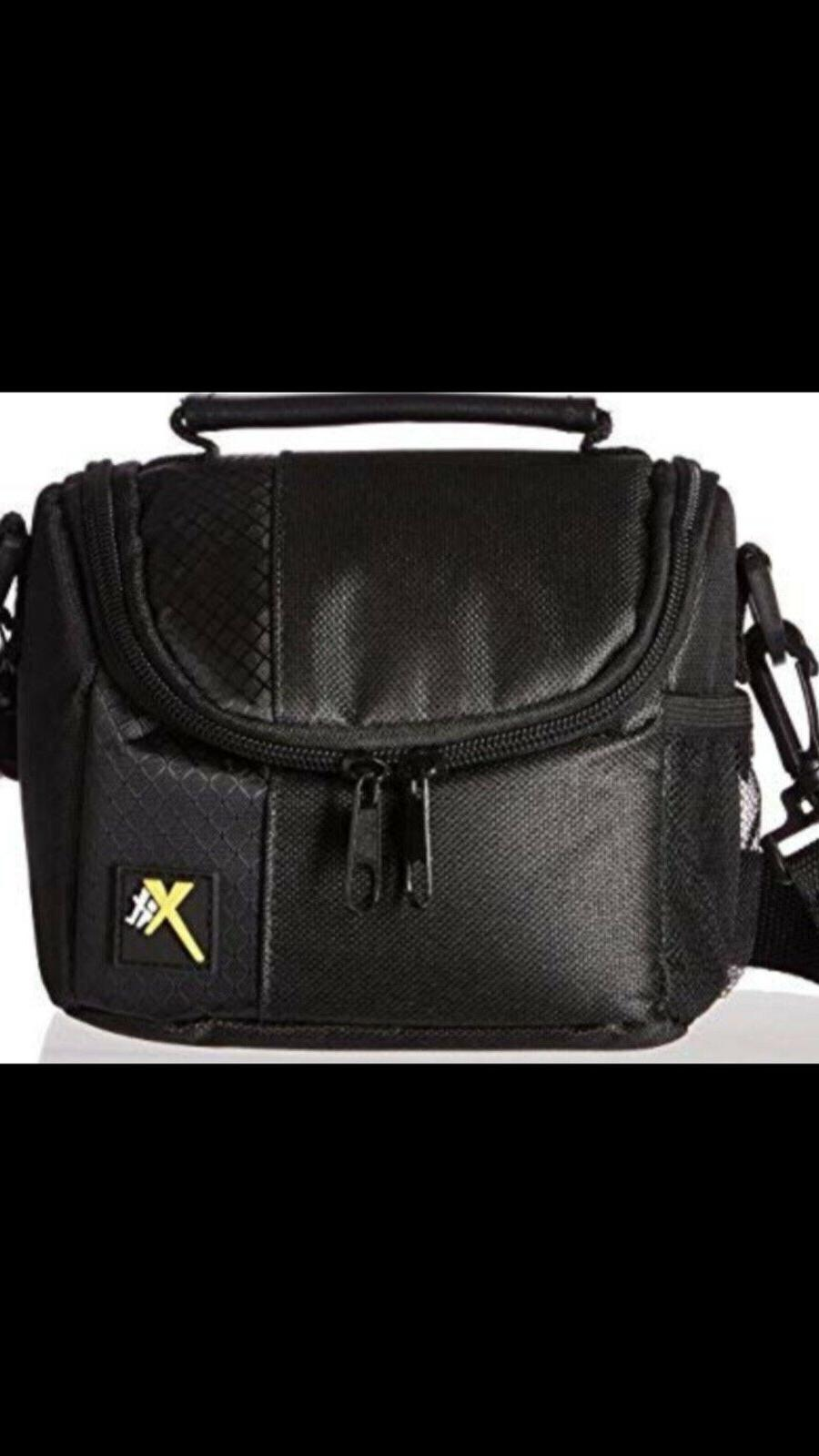xtcc3 deluxe digital camera video padded carrying