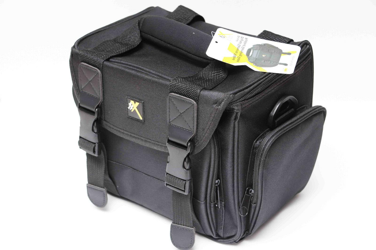 xtcc4 deluxe digital camera video padded carrying